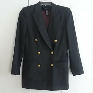 Vintage Liz Claiborne Double Breasted Wool Blazer